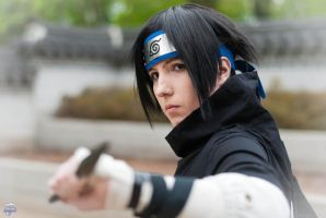 sasuke - black basic 2 by Dark-Uke