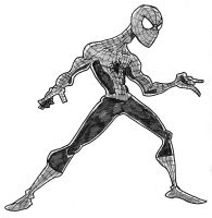 Spiderman sketch by TheNoirGuy