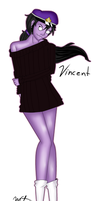 Sweater vincent by Sniper-Huntress