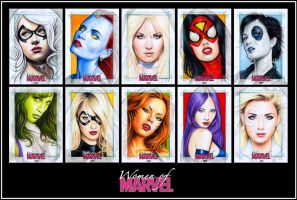 WOMEN OF MARVEL Series II A by S-von-P