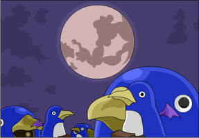 the Prinny harvest by princeshadow13