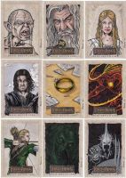 Lord of the Rings cards D by tonyperna