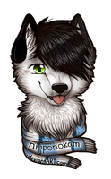 Conbadge 2013 by meokami