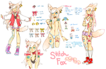 Design For Auction: Stitch Fox (CLOSED) by Costly
