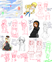 Another huge sketchdump for you guys by Wynautwai
