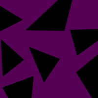 Violet and Black Triangle Camo by chaosshade