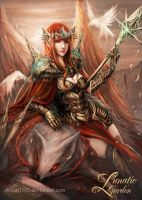 Seven Angels: Ethelgyth by shizen1102