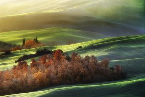 Light on Tuscan waves by JPawlak