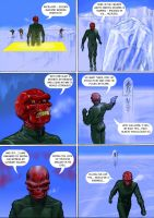 TLIID Time-travel week- Red Skull vs. Frozen Cap by Nick-Perks