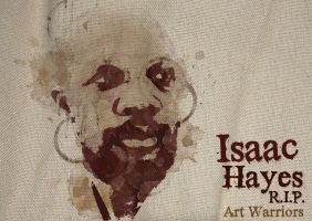 R.I.P. Isaac Hayes by artwarriors
