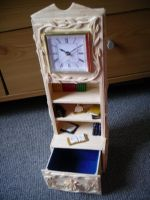 Matchstick clock by ConkerTSquirrel