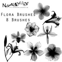 Flora Brushes by neverhurtno1