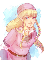 kkkknight zelda by Raven-igma