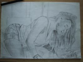First attempt of realistic drawing... :) by bKKa619