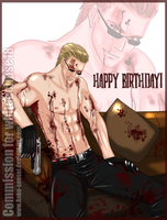 Wesker_Happy B-Day_Commission by Anko-sensei
