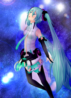 Miku Hatsune Append by Pencil13