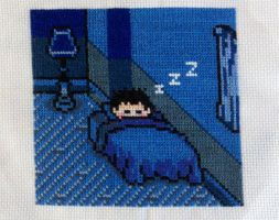 Earthbound Ness Cross Stitch by starrley
