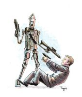 Kirk Meets IG-88 - boatwright by TheDeviantMakepeace