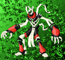 BonemummyV2 Ben10 Alien by BLUE-F0X