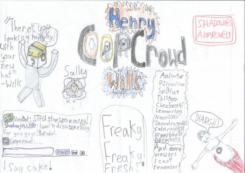 Really Bad CoopCrowd Drawing by shadowjess2000
