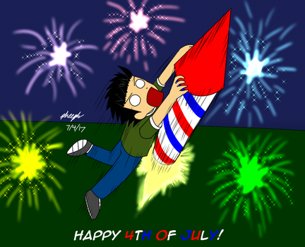 Fourth of July 2017 by pheeph