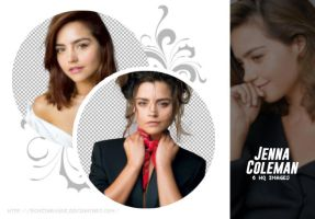 PACK PNG 38 // JENNA COLEMAN by Bonitarogue