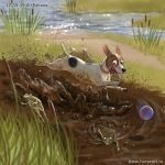 Big story of a small dog#9 by Fable-Art