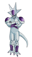 Frieza 5th form by RobertoVile