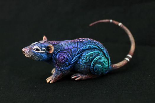 Metallic Rat by hontor