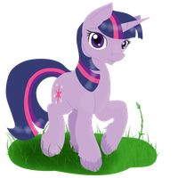 Pony Pose #1 by Geomancing