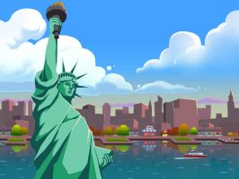 World Solitaire: New York by ZEBES