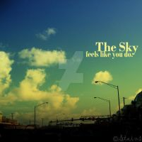 The Sky, feels like you do by Acid-Stains