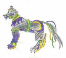 Beast Wars: Beast Mode Lupine by ToonQueen