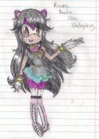 The Hedgehog Princess colored doodle :p by LilacPhoenix