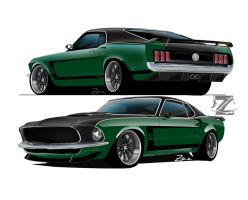 69 mustang GT2 363 project by zvtdesigns