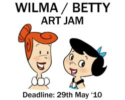 May Jam: Wilma and Betty by mashi