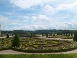 Garden at Versailles by TheCelticWolf