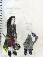 Gabriel and Revin - Colored by PaashTheSneasel