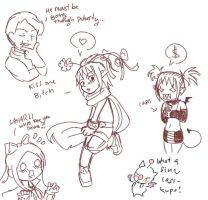 .What Laharl does in secret. by dragonflie