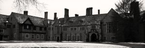 Meadow Brook Hall Front Facade by danitzh