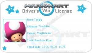 MKWII License Bubble66 by agentbananayum