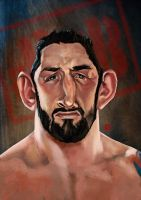 WWE Bad news Barrett by KhasisLieb