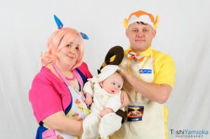 Family Cosplay by spotsandpatches
