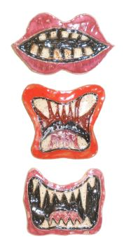 Modular Mouth Magnets by aberrantceramics