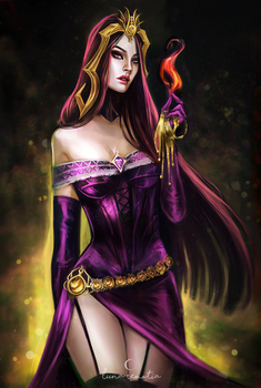 Liliana Vess by LunaRemotia