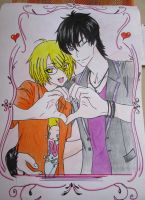 Love Stage drawing by MizuShiemi