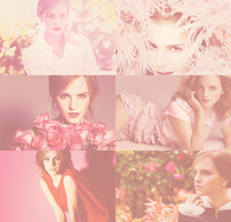 Emma Watson - Pink by simpleestyle
