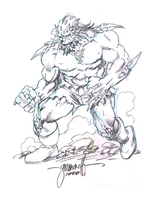 Tom Grummett - Doomsday by mikephifer