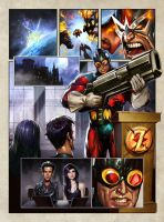 HEAVY METAL page 1 by Dave-Wilkins