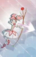 Madoka: I've got this. by bishounenizer
